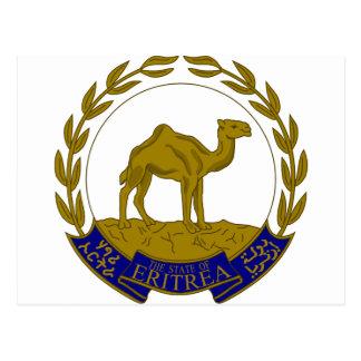 Escudo de armas de Eritria Tarjetas Postales