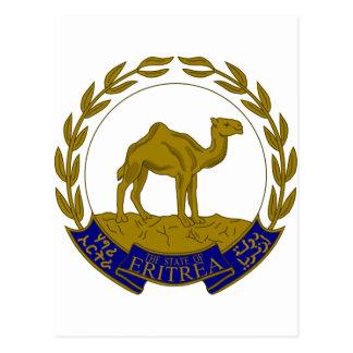 Escudo de armas de Eritria Tarjeta Postal