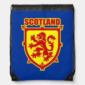 Escudo de armas de Escocia con el león Mochila