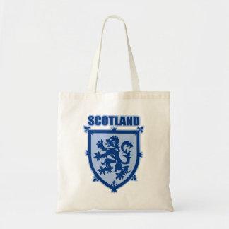 Escudo de armas de Escocia con la bolsa de asas