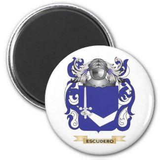 Escudo de armas de Escudero Imanes De Nevera