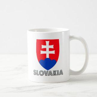 Escudo de armas de Eslovaquia Taza
