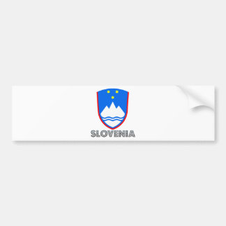 Escudo de armas de Eslovenia Pegatina Para Auto