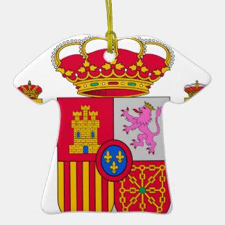 Escudo de armas de España Adorno De Cerámica En Forma De Playera