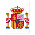 Escudo de armas de España Postal