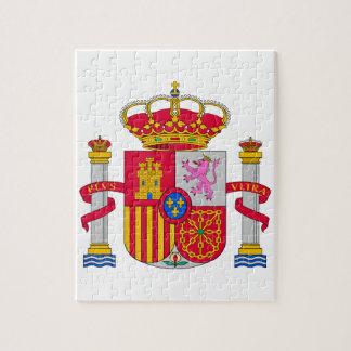 Escudo de armas de España Rompecabeza Con Fotos