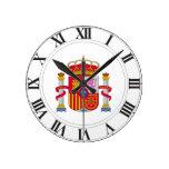 Escudo de armas de España Reloj
