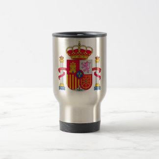 Escudo de armas de España Taza De Viaje De Acero Inoxidable