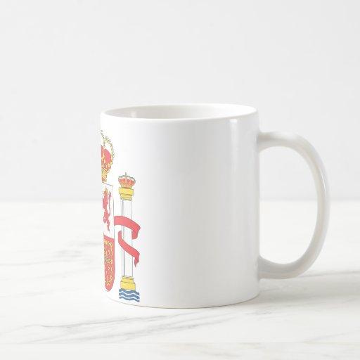 Escudo de armas de España Tazas De Café