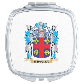 Escudo de armas de Espinola - escudo de la familia Espejo Compacto
