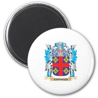 Escudo de armas de Espinoza - escudo de la familia Imán Redondo 5 Cm