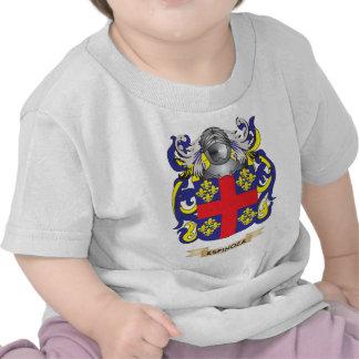 Escudo de armas de Espinoza Camisetas