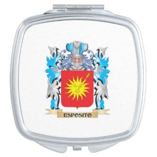 Escudo de armas de Esposito - escudo de la familia Espejo De Maquillaje