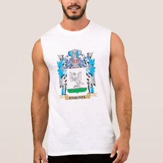 Escudo de armas de Esquivel - escudo de la familia Camisetas Sin Mangas