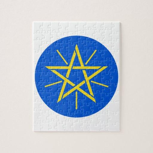 Escudo de armas de Etiopía Puzzles