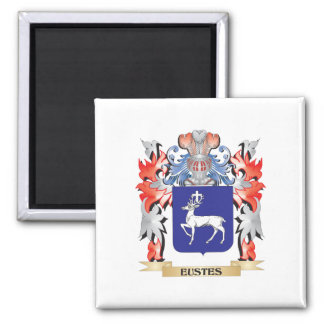 Escudo de armas de Eustes - escudo de la familia Imán Cuadrado