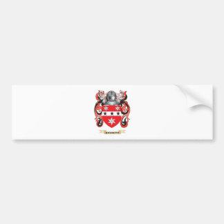 Escudo de armas de Everett Pegatina De Parachoque