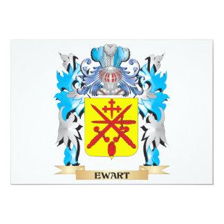 Escudo de armas de Ewart - escudo de la familia Invitacion Personal