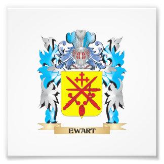 Escudo de armas de Ewart - escudo de la familia