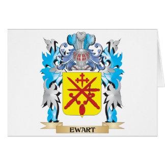 Escudo de armas de Ewart - escudo de la familia Tarjeton
