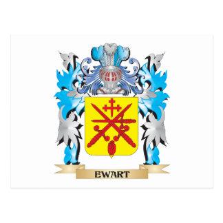 Escudo de armas de Ewart - escudo de la familia Tarjetas Postales