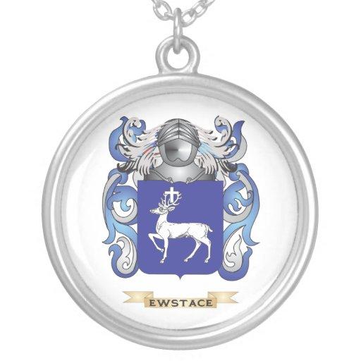 Escudo de armas de Ewstace Collar Personalizado