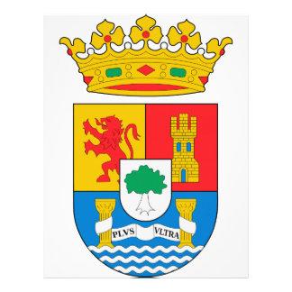 Escudo de armas de Extremadura (España) Membrete Personalizado