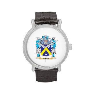 Escudo de armas de Faber - escudo de la familia Reloj