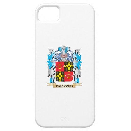 Escudo de armas de Fairbanks - escudo de la famili iPhone 5 Coberturas