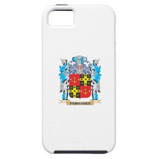 Escudo de armas de Fairbanks - escudo de la famili iPhone 5 Case-Mate Funda
