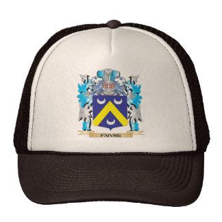 Escudo de armas de Faivre - escudo de la familia Gorras De Camionero