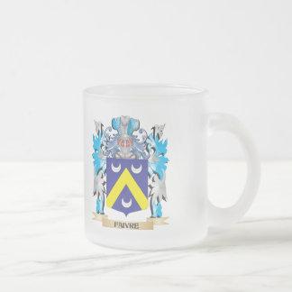 Escudo de armas de Faivre - escudo de la familia Taza