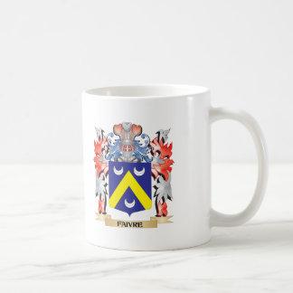 Escudo de armas de Faivre - escudo de la familia Taza De Café