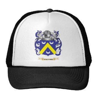 Escudo de armas de Faivre Gorros Bordados