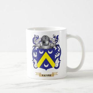Escudo de armas de Faivre Tazas