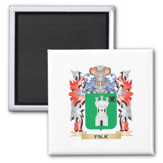Escudo de armas de Falk - escudo de la familia Imán Cuadrado