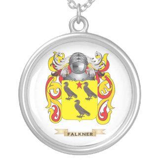 Escudo de armas de Falkner Colgante Redondo