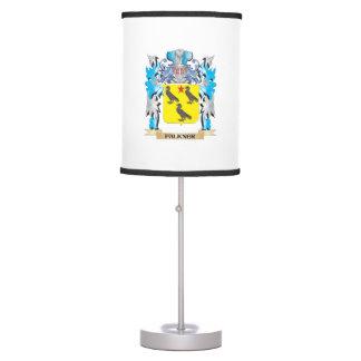 Escudo de armas de Falkner - escudo de la familia Lámpara De Mesa
