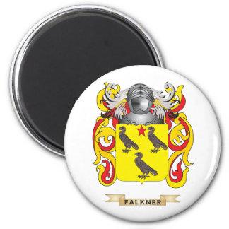 Escudo de armas de Falkner Imán Redondo 5 Cm