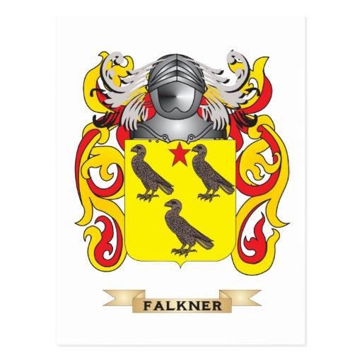 Escudo de armas de Falkner Tarjetas Postales