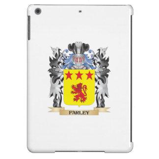 Escudo de armas de Farley - escudo de la familia Funda Para iPad Air