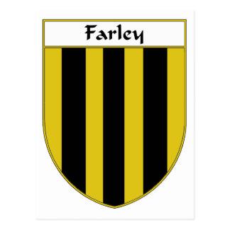Escudo de armas de Farley escudo de la familia Tarjetas Postales