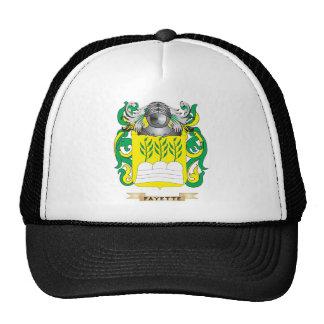 Escudo de armas de Fayette Gorras