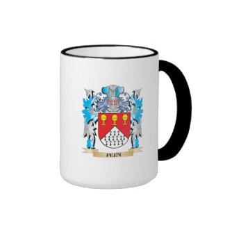 Escudo de armas de Feen - escudo de la familia Taza A Dos Colores
