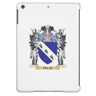 Escudo de armas de Felix - escudo de la familia Funda Para iPad Air
