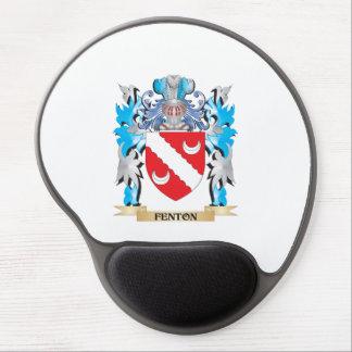 Escudo de armas de Fenton - escudo de la familia Alfombrilla Con Gel