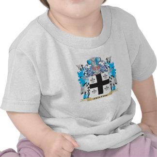 Escudo de armas de Fenton- - escudo de la familia Camisetas