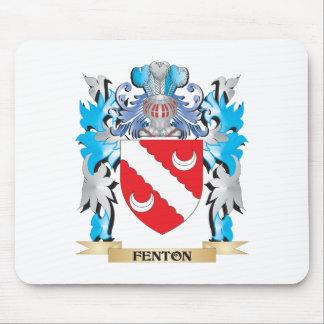 Escudo de armas de Fenton - escudo de la familia Tapetes De Ratones