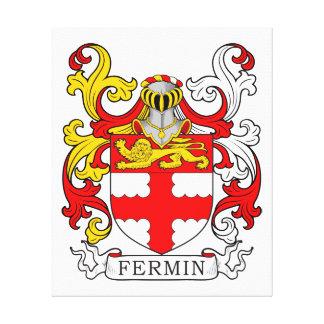 Escudo de armas de Fermín Impresion En Lona