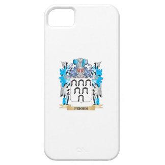 Escudo de armas de Ferris - escudo de la familia iPhone 5 Cárcasas